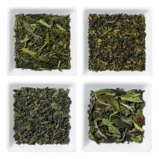 Probenbeutel grüner Tee